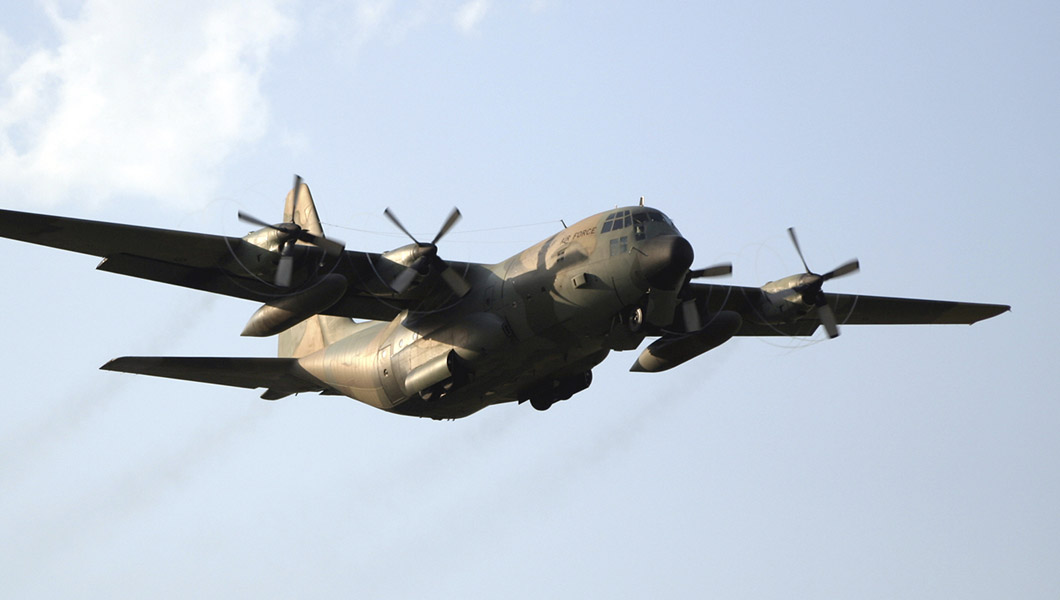 Hercules C-130 AIrplane