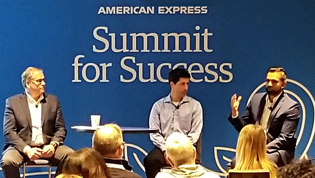 American Express Summit for Success panel speakers