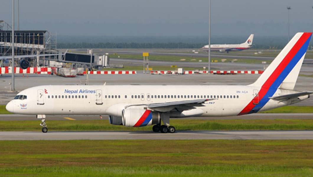 Aventure Aviation   Boeing 757-200 of Nepal Airlines