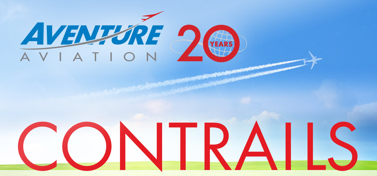 Aventure Aviation 20 Years | CONTRAILS