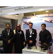Aventure exhibit at Bahrain Airshow