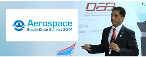 Amyr Qureshi Speaks at Aerospace Summit in Dubai