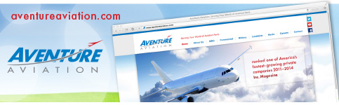 Aventure Aviation Launches New Website
